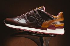 Saucony x Wolverine - Horween Leather Shadow Original