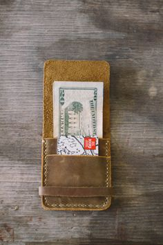 R.C. Smith Leatherworks••Workman's Wallet