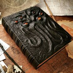 Handmade Leather Grimoires and Journals That Will Amaze You