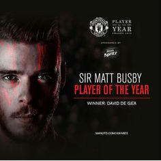 #ManchesterUnited - '15 Player Of The Year - David De Gea Quintana #1