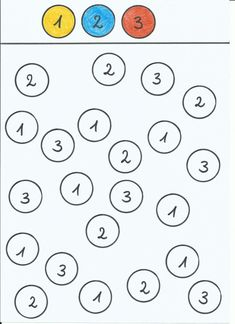Zahlen suchen und einfärben | tinasblumenwiese