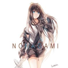Anime Noragami this ova was hilarious! Can't believe Yato possessed Iki like that haha Anime Noragami, Manga Anime, Manga Girl, Anime Naruto, Yatogami Noragami, Yato And Hiyori, Manga Kawaii, Anime Girls, Chibi