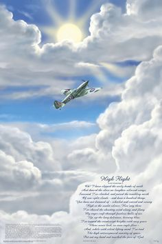 """John Gillespie Magee, Jr. (1922–1941) was an American pilot who died as a result of a mid-air collision over Lincolnshire during World War II. He was serving in the Royal Canadian Air Force, which he joined before the United States officially entered the war. He is most famous for his poem """"High Flight."""""""
