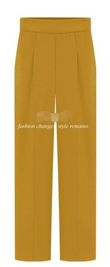 Straight Pure Color Casual Wide Legs Pants