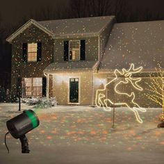 Star Shower Laser Light Projector Outdoor Christmas Show Night Holiday Decor New