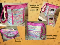The Guardian Bag - sewing pattern by StudioKat Designs  #sewing