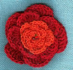 5 petal flower...can be done in single color, multiple colors or with beads.  easy pattern.