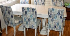 I have made new loose covers for my dining chairs. The original covers was black. That was to dark for my taste, so I made new one . Dining Room Chair Covers, Dining Room Chairs, Lounge Furniture, Furniture Design, Best Online Furniture Stores, Chair Makeover, Slipcovers For Chairs, Diy Chair, Home Furnishings