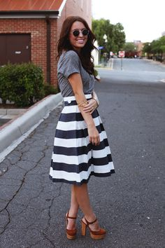 cute look for europe (can you sense a trend with long skirts and heels for europe?)