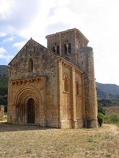 San Pedro de Tejada.- Ermita de Puenteareas - Burgos, dependía del monasterio de San Salvador de Oña al pie de la Sierra de Tesla