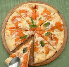 Persimmon pizza