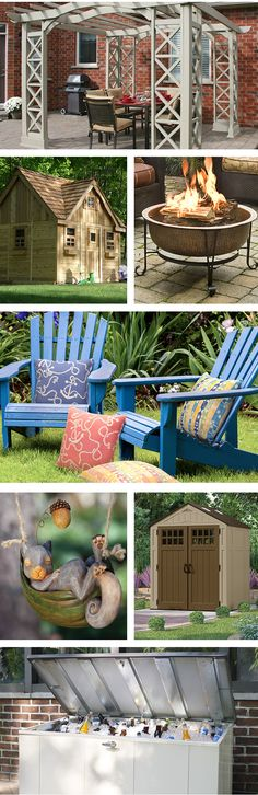Make the most of your backyard! With affordable outdoor upgrades, you can create an area for hosting friends, add décor, or increase storage. Visit Wayfair and sign up today to get access to exclusive deals everyday up to 70% off. Free shipping on all orders over $49.