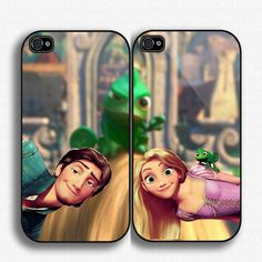 Disney Tangled Couple Case iPhone case for iPhone 4 case, iPhone 5 case, and Sasmung galaxy s3 and Samsung Galaxy s4 on Etsy, $33.25 OH WOW