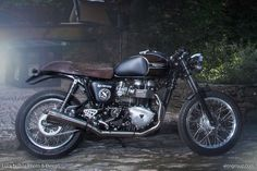 Cafe Racer Pasión — Triumph Thruxton Cafe Racer by Alo's Group -...