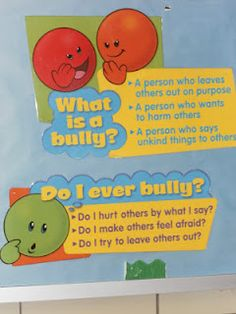 Great for helping kids understand how their behavior might injure others or help in defining what bullying is...love this for kiddos.