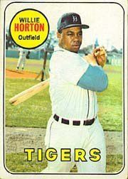 1969 Topps #180 Willie Horton - FAIR by Topps. $0.42. 1969 Topps Co. trading card in fair condition, authenticated by Seller