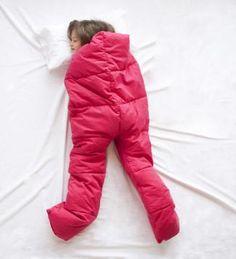 ¡Para dormir calentito! A uno que tenemos en casa le vendría de lujo