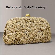 ♡ PequenaIv Artesanato ♡ : Carteira Stella Mccartney - com gráfico
