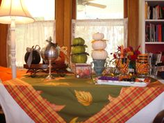 Martha Stewart Fall Decorations | Fall Table Top Decor! » Busy Bee Lifestyle