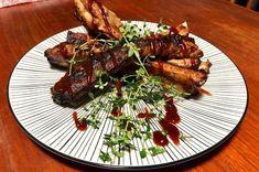 Smoked Ribs Rib Recipes, Cooking Recipes, Best Smoked Ribs, Best Ribs Recipe, Lemon Salt, South African Recipes, Tomato Paste, Smoked Paprika, Kitchens
