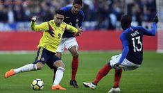 Colombia sorprende a Francia: le gana 2-3 en su casa