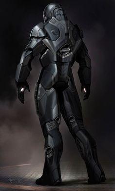 War Machine - Concept Art
