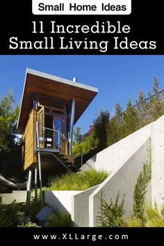 11 Must see ideas for small spaces living. Discover the art of living in a small space. These small living ideas will inspire and give you some great home ideas for small spaces. Small Space Living, Art Of Living, Small Spaces, Big Houses, Tiny House, The Incredibles, Inspire, Cabin, Live