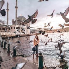 happens i can always take a long walk along the Bosphorus. Have you ever been to Istanbul? Places Around The World, Around The Worlds, Turkey Destinations, Earth City, Istanbul Travel, Visit Istanbul, Blue Mosque, Turkey Travel, Disney Instagram