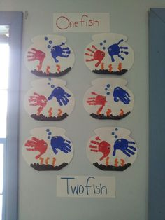 Dr. Suess march craft ~ inspiration  from a former classmates display