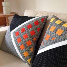 Pauline Hearn on In. Sewing Pillows, Diy Pillows, Linen Pillows, Cushions, Throw Pillows, Bolster Pillow, Pillow Ideas, Diy Pillow Covers, Pillow Cover Design