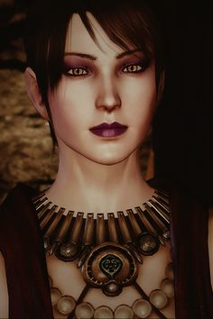 Morrigan - Dragon Age: Origins (Modded to look like her Inquisition self? Or IS this her Inquisition self?!)