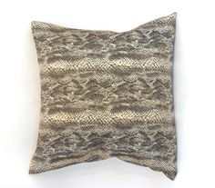 Anaconda Pillow design by Baxter Designs