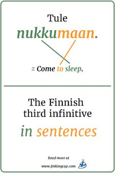 Learn Finnish, Finnish Language, Verb Forms, Learn A New Language, English Study, In A Nutshell, Read More, Sentences, Vocabulary