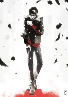 "nipresa: "" (via LRNZ | DYD: Character exploration B.) Un bellissimo Dylan Dog di Lorenzo Ceccotti """