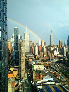 NYC - rainbow