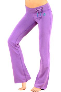 """Comfy, stylish, loungey---Green Apple Active 33"""" Clea Lounge Pants With Vintage Wash $45"""