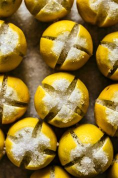 How to Make Preserved Lemons | occasionallyeggs.com - just two ingredients and a bit of time, and you can make your own preserved lemons! #healthy #lemons #Moroccan