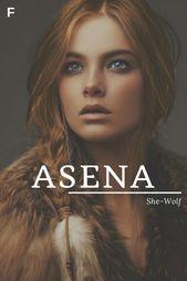 Asena Was Bedeutet She Wolf Turkische Namen Namen Eines Babys