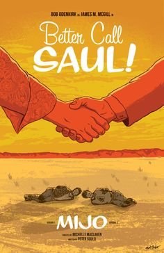 Are you guys watching Better Caul Saul? I love it! I'm going to try to draw posters for all the episodes this season, as my schedule allows. This one is for episode two, Mijo. My poster for episode one is here.