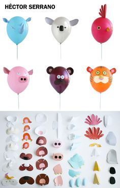 Kids Birthday Balloon Animals Go To The Next Level: Air Heads by Hector Serrano for Npw