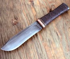 The Pig bushknife from Wildertools by Rick Marchand: