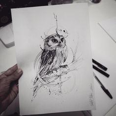 Artskillus • Эскизы тату • Иллюстрации