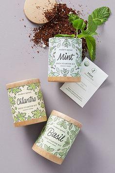 Modern Sprout Seed Starter Kit | Gardening Essentials