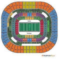 Carolina Panthers vs Tampa Bay Buccaneers Tickets 10 10 16 Charlotte E TIX | eBay
