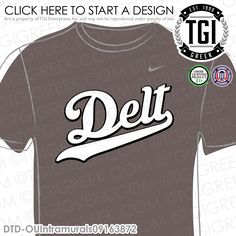 Delta Tau Delta | ΔΤΔ | Intramural | Athletics | Brotherhood | Greek Life | Intramural Tee | Intramural Jersey | TGI Greek | Greek Apparel | Custom Apparel | Fraternity Tee Shirts| Fraternity Tanks | Fraternity T-shirts