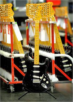 Fender Custom Shop David Gilmour strats ready for distribution.