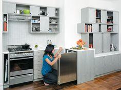 DOD_sliding kitchen interior portrait in kitchen