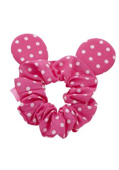 Clothing at Tesco Diy Hair Scrunchies, Barrettes, Minnie Mouse, Disney Hair, Kids Makeup, Diy Ribbon, Disney Crafts, Fabric Jewelry, Disney Outfits
