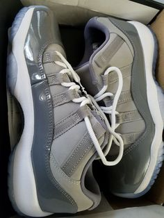 buy popular 56b65 719a7 Extra Off Coupon So Cheap Jordan Retro 11 Low Boys  Grade School Medium  Grey White Gunsmoke 28896003