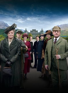 I absolutely LOVE Downton Abbey! It's by far one of my favorite programs, along with Game of Thrones and Sherlock!